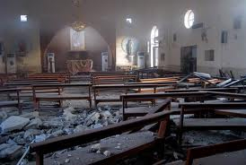 Holy Family Syrian Catholic Church Bombed 2